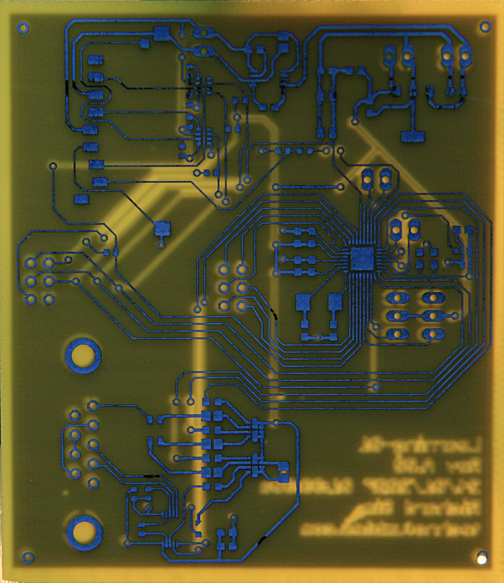 Fumbling Around With Technology Making Printed Circuit Boards A Coworker Has Been Raving For Few Weeks About How Easy And Quick It Is To Make Pcbs At Home Using What Commonly Called The